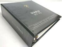 Lamborghini COD 901325722 Diablo VT MY 96 Spare Parts Catalog Manual