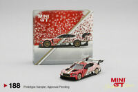 MINI GT MGT00188 BENTLEY CONTINENTAL GT3 2020 CHRISTMAS EDITION PHILIP DEAN 1/64