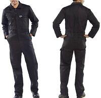 Werkstatt Arbeitskombi Overall schwarz Gr 52 Arbeitsoverall Arbeitsanzug