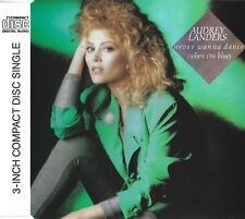 Audrey Landers: Never wanna dance   3 inch CD with adapter