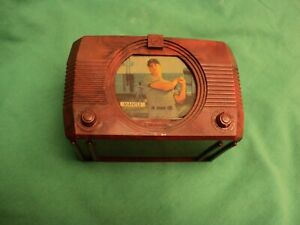Vintage 1950's TV Bank Mickey Mantle Urbana,Ohio