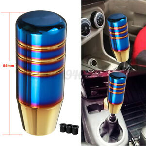 Universal Auto Car Aluminum Manual Gear Shift Knob Shifter Handle Lever Stick AU