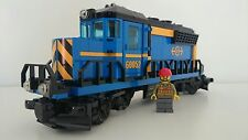 Lego Train City Cargo Freight Blue Engine WITH MOTOR Railway from 60052 - NEW
