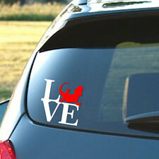 Bearded Dragon Love - Vinyl decal in two color, Dubia, Cricket, Reptile, Food