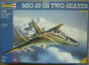 Revell 4751 1:32 MiG-29UB Two Seater GDR NVA LSK/LV