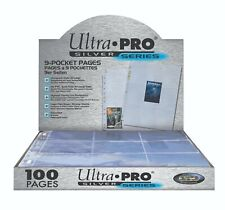 Ultra Pro Silver 9-Pocket Pages (25 Pages)