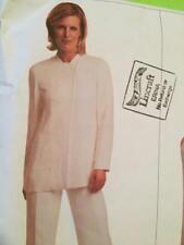 Vogue Sewing Pattern 2665 Misses Jacket Pants Size 14-18 Donna Karan