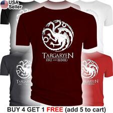 Game of Thrones Targaryen T-Shirt House Fire and Blood Mother Dragons GoT Dragon