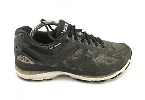 ASICS T702N Mens Gel-Nimbus 19 Running Shoes, Black/Onyx/Silver Sz 8 US 4E