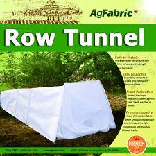 Agfabric Heavy Duty Row Tunnel with Fleece Cover, Large