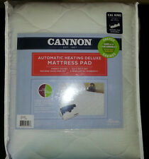 Biddeford Cannon Deluxe Heated Mattress Pad w/ Two Controllers, California KING