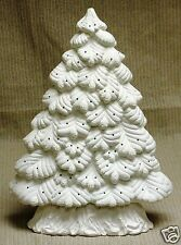 Ceramic Bisque Christmas Tree Sierra Window Nowell 1719 Light Kit Ready To Paint