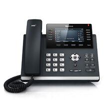 NEW Yealink SIP-T46G Ultra-Elegant Gigabit IP Phone (Black)