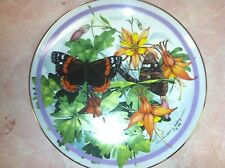 Butterfly Garden plate collection/Hamilton/Paul J. Sweany/Spicebush Swallow-1986