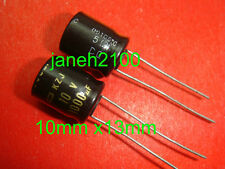 1000x Nippon 1000uF 10v Low-ESR capacitors 105C 10mm x 13mm