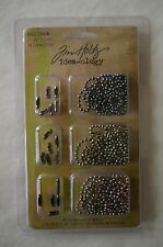 "Tim Holtz Idea-Ology Metal Ball Chains 3/pkg 36"" each & 18 Connectors"