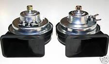 Horns Dual Electric Trumpet Hi/Lo Set Porsche 911 912 914 LOUDEST We Can Find!!!