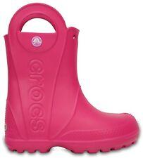 Crocs Kids Handle It Rain Croslite Boys Girls Lightweight Wellies Boots.