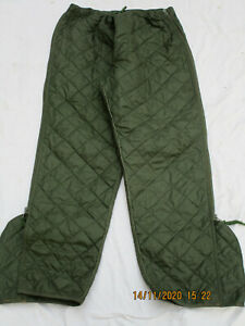 Liner Extreme Cold Weather Trousers,Thermo Stepphose,oliv,Gr. Size 5 -Medium,