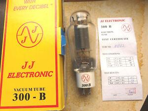 "1 Paar 300B JJ Electronic Trioden Röhren ""NEU"" im Original Karton-  -> tube amp"