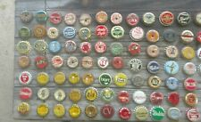 81 DIFF. SOFT BEER CERVEZA Cork-Lined  BOTTLE CAPS NICE COLLECTION SCARCE-RARE
