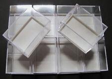 10 Stück: 59x41x39 mm Dosen für Mineralien Sammelkasten Mineraliendosen Sammlung