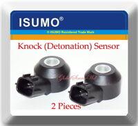 2 Pieces Knock (Detonation)Sensor Fits Subaru Legacy Outback Tribeca
