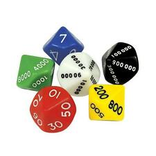 Dice Place Value Student - 6 piece Maths Teacher Resource Kids Games Learning