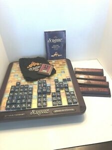 DELUXE 50th ANNIVERSARY EDITION ROTATING SCRABBLE CROSSWORD GAME