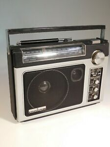 GE SupeRadio II  General Electric AM/FM Super Radio 7-2885C Excellent Condition
