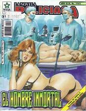 *NOVELA POLICIACA*  THE IMMORTAL MAN - MEXICAN COMIC ~>SEXY<~ #2563