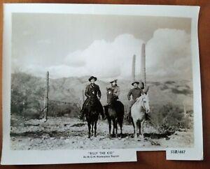 ORIGINAL LOBBY CARD BILLY THE KID 1955 Western