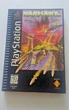 Sony Playstation 1 PS1 Warhawk 1995 Long Box Video Game