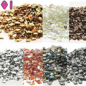 Dragon Scale 5x3.7mm Czech Glass Fringe Drop Beads 9.5 Grams U-Pick