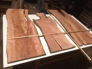 Apfelbaum Holz Bretter 3 Stück Restholz Bastelholz