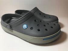 Crocs Classic Clogs Grey Gray Size Womens 8 men's 6 Unisex Sandals
