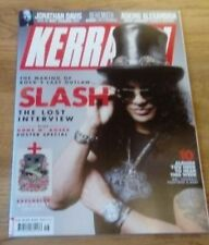 April Kerrang! Music, Dance & Theatre Magazines in English