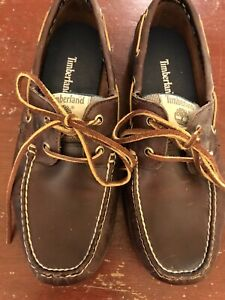 Mens Timberland Brown Classic Loafer Shoes Size 8