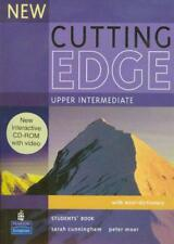 New Cutting Edge Upper Intermediate Students Book and CD-ROM Pack by Sarah Cunni