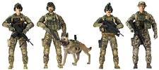 Force Army Rangers 5 Pack Figures Toy Military 1:18 Role Play Imagination