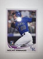 2013 Topps Update Nolan Arenado Rookie Card US259 Colorado Rockies RC