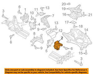 Genuine OEM Left Motor Mounts for Audi A6 Quattro for sale | eBay | Audi Allroad Engine Diagram |  | eBay