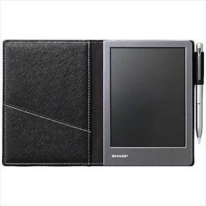Sharp electronic notebook black WG-S50 japan NEW