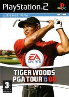 Tiger Woods PGA Tour 08 PS2 (Playstation 2) - Free Postage - UK Seller