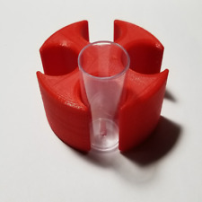 Salifert Cuvette Holder & Drier - 4 Spots - 3D Printed - Many Colors