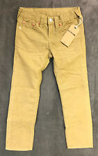 NWT TRUE RELIGION JEANS KIDS BOYS GENO CORDS CORDUROY PANT IN BEACH NUT SZ 6
