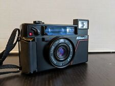 Nikon L35AF 35mm Point and Shoot Film Camera. ISO 1000 -  Film Tested. No flash
