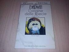 CHARLES DARWIN L'ORIGINE DELLE SPECIE abbozzo 1842 NEWTON 1992 13°TEN COME NUOVO