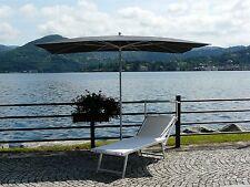 Maffei ombrellone palo centrale Kronos Art.138R grigio poliestere 300x200cm