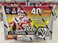 2020 Panini Mosaic Football (Target) Mega Box - Factory Sealed! Herbert/Burrow?